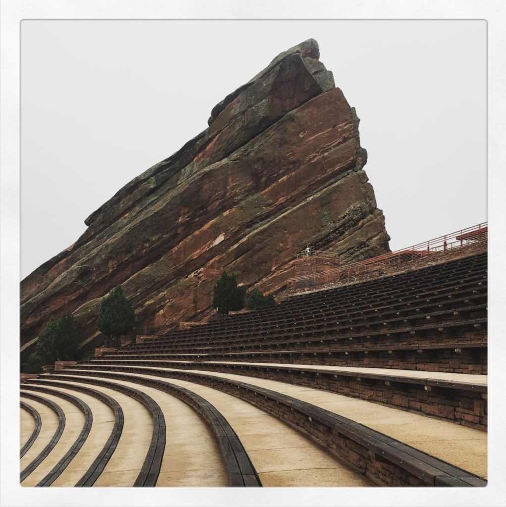 Red Rocks from row 54
