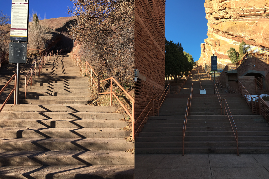 Endless stairs at Red Rocks