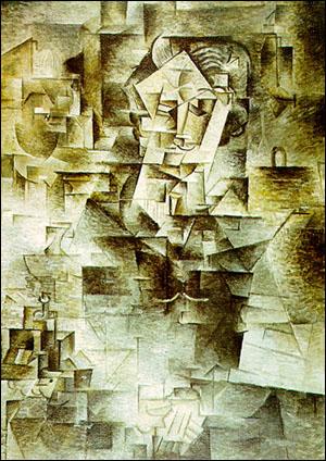 Pablo Picasso: Portrait of Daniel-Henry Kahnweiler