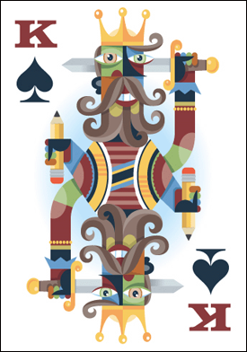 Von R. Glitschka: King