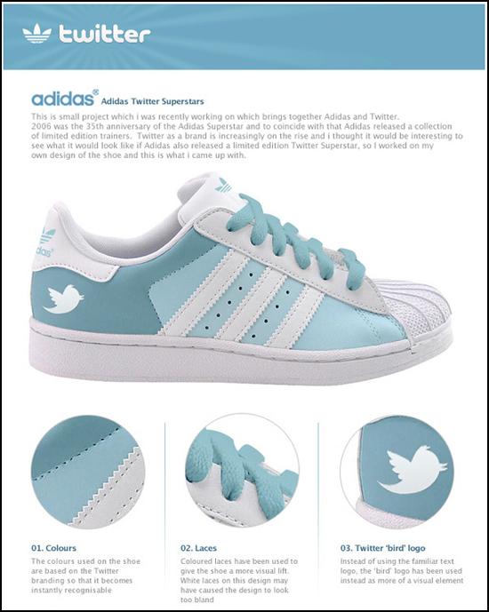 Twitter & Facebook Adidas | Michael Myers