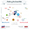 Link to Politics of the Social Web (infographic)