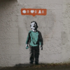 Link to Banksy + Instagram